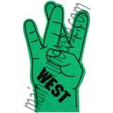 Main en West taille 18 pouces